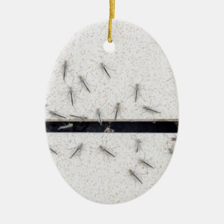 Ornamento De Cerâmica Rebanho dos mosquitos que entram na sala