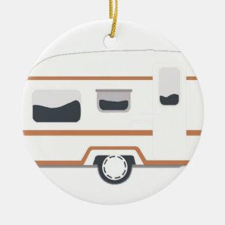 Ornamento De Cerâmica Reboque de campista Van de acampamento