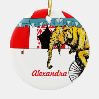 Ornamento De Cerâmica Recordações do circo na memória de elefantes do