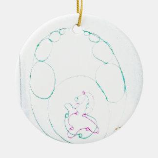 Ornamento De Cerâmica Rede de um Sengaku knotty