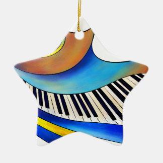 Ornamento De Cerâmica Redemessia - piano espiral