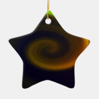 Ornamento De Cerâmica Redemoinho abstrato