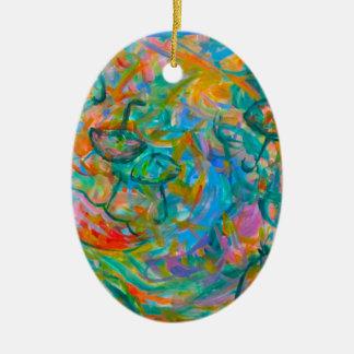 Ornamento De Cerâmica Redemoinho do guarda-chuva