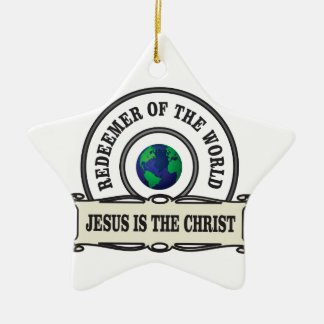 Ornamento De Cerâmica redentor do senhor do mundo