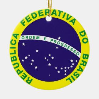 ORNAMENTO DE CERÂMICA REDONDO