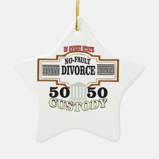 Ornamento De Cerâmica reduza a custódia 50 50 automática dos divórcios