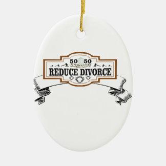 Ornamento De Cerâmica reduza a custódia 50 do divórcio 50