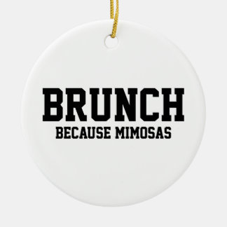 Ornamento De Cerâmica Refeição matinal porque Mimosas