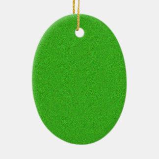 Ornamento De Cerâmica Reflexo verde