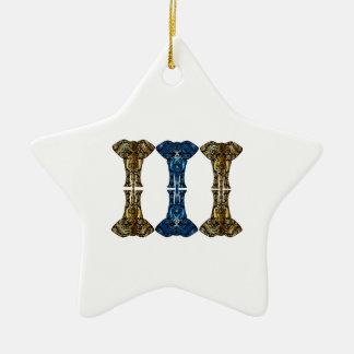 Ornamento De Cerâmica Reflexões doces