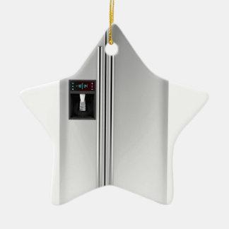 Ornamento De Cerâmica Refrigerador grande