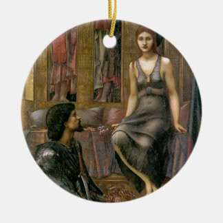 Ornamento De Cerâmica Rei Cophetua e empregada doméstica de Edward - de