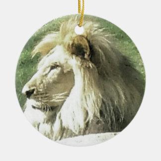 Ornamento De Cerâmica Rei de animais