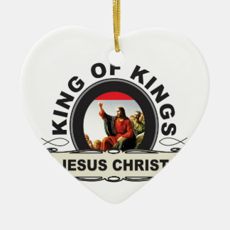 Ornamento De Cerâmica Rei dos reis JC