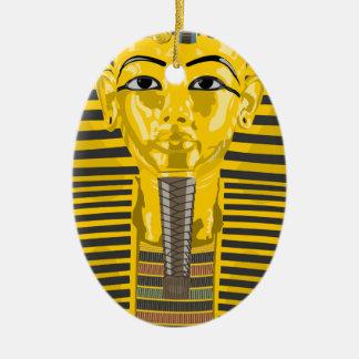 Ornamento De Cerâmica Rei Tut