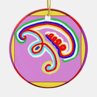 Ornamento De Cerâmica Reiki Karuna Ommantra: EEYAWA