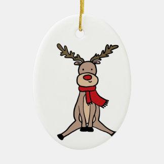 Ornamento De Cerâmica RENA BONITO, Rudolph
