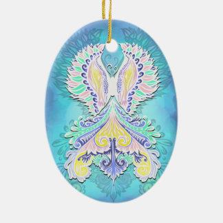 Ornamento De Cerâmica Renascido - luz, bohemian, espiritualidade
