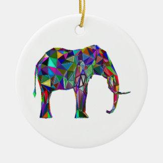 Ornamento De Cerâmica Renascimento do elefante