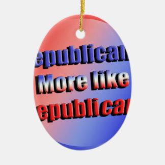 Ornamento De Cerâmica Republicant