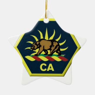 Ornamento De Cerâmica Reserva militar de Califórnia