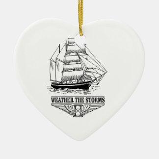 Ornamento De Cerâmica resista à glória da tempestade