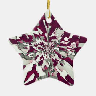 Ornamento De Cerâmica Respingo de Camo