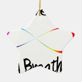 Ornamento De Cerâmica respiração infinita