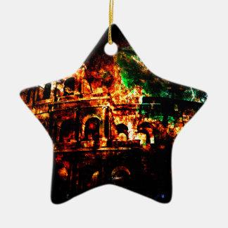 Ornamento De Cerâmica Respire outra vez sonhos dos padrões romanos perto