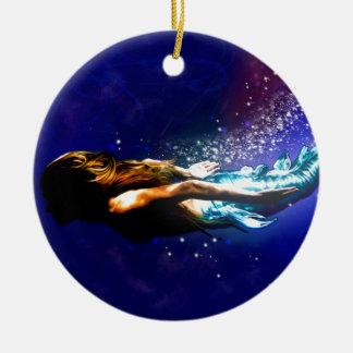 Ornamento De Cerâmica Retorne ao mar
