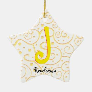 Ornamento De Cerâmica Revelação 22-2