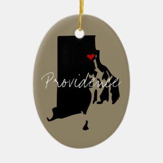 Ornamento De Cerâmica Rhode - cidade da ilha