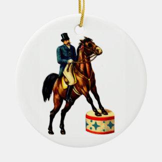 Ornamento De Cerâmica Ringmaster do circo