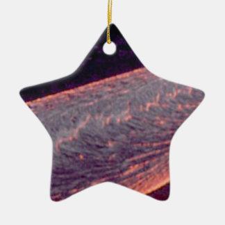 Ornamento De Cerâmica rio do fogo derretido