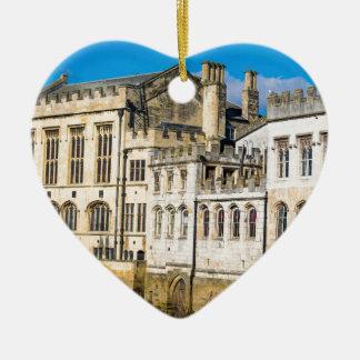 Ornamento De Cerâmica Rio Ouse da capela da cidade de York