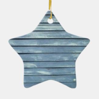 Ornamento De Cerâmica Ripa azul