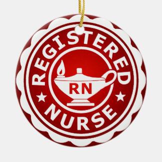 Ornamento De Cerâmica RN (enfermeira diplomada)