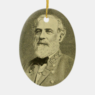 Ornamento De Cerâmica Robert E. Lee