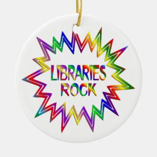 Ornamento De Cerâmica Rocha das bibliotecas