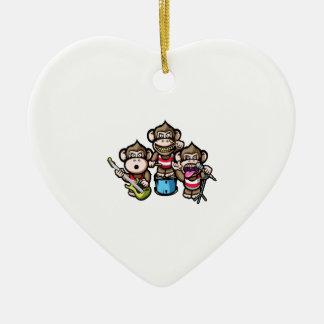 Ornamento De Cerâmica Rocha dos macacos