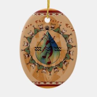 Ornamento De Cerâmica Rocha ereta