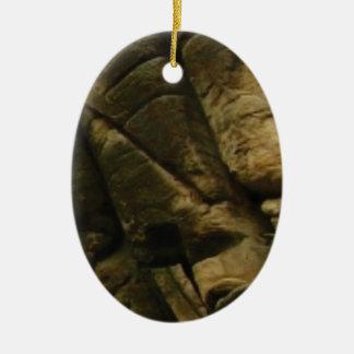 Ornamento De Cerâmica rochas cinzentas do burburinho