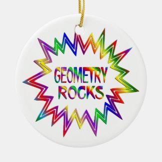 Ornamento De Cerâmica Rochas da geometria