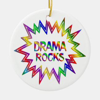 Ornamento De Cerâmica Rochas do drama