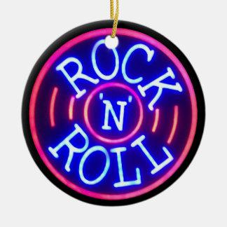 Ornamento De Cerâmica Rock and roll