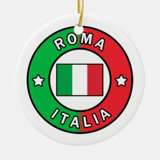 Ornamento De Cerâmica Roma Italia