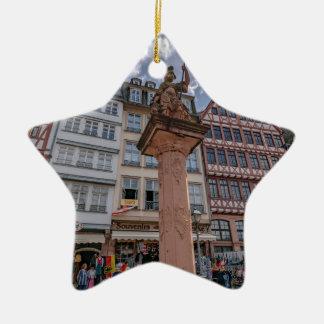 Ornamento De Cerâmica Romer Francoforte