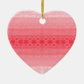 Ornamento De Cerâmica rosa