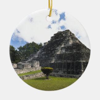 Ornamento De Cerâmica Ruínas maias de Chacchoben do Maya da costela
