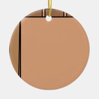 Ornamento De Cerâmica Saco de papel